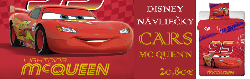 detska disney obliecka mc queen